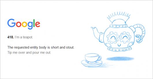 Google の 418 ページ