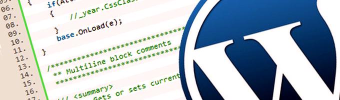 Wordpress Code Image
