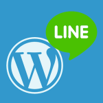 Line on WordPress