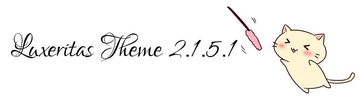 Luxeritas 2.1.5.1