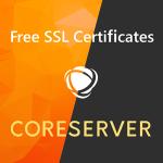 CORESERVER + 無料 SSL
