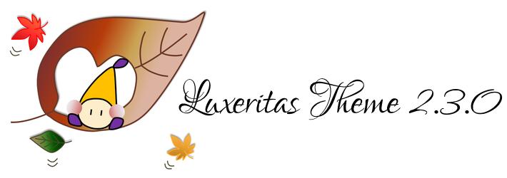 Luxeritas 2.3.0