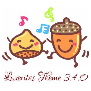 Luxeritas 3.4.0