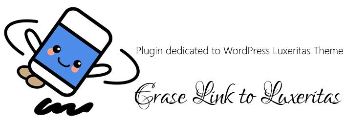 Erase Link to Luxeritas